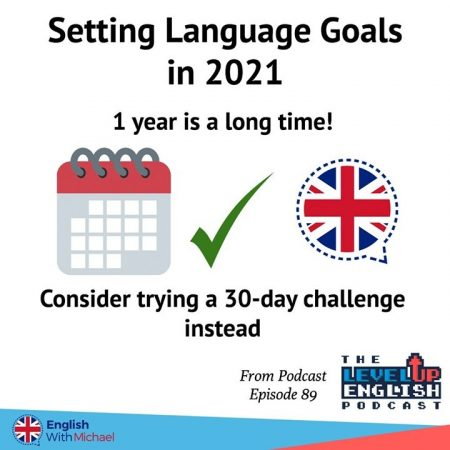 Setting Language Goals 2021