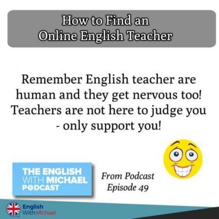How to find an online teacher