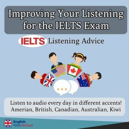 Improve Listening for IELTS - Accent