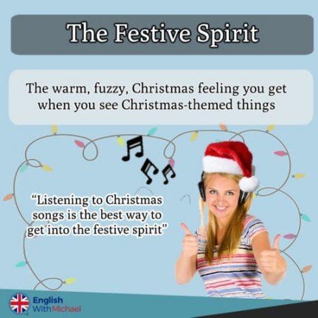The festive spirit